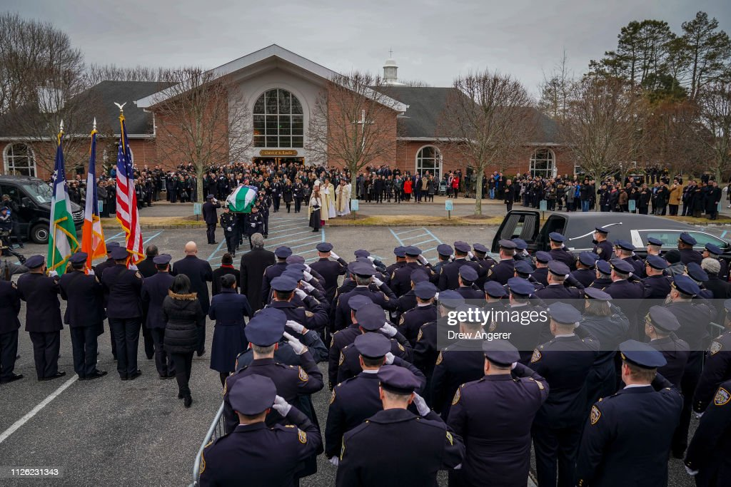 NY: Funeral Held For NYPD Detective Killed During Attempted Robbery In Queens