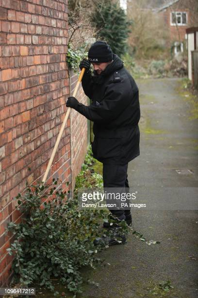 Police officers search in Hull near the home of 21yearold student Libby Squire who has been missing since Friday February 1st