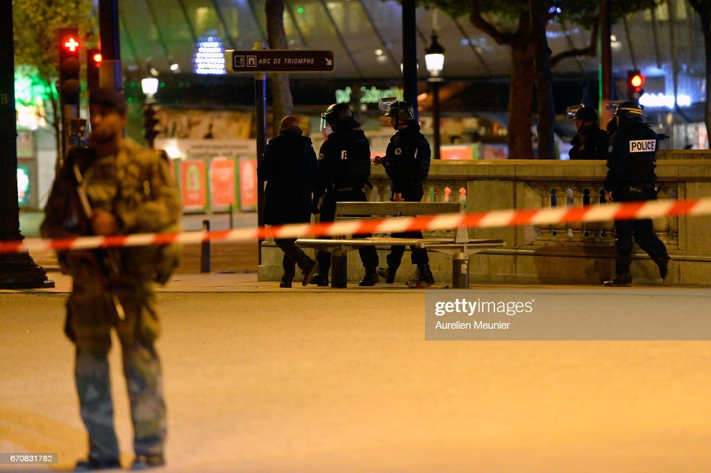 Police Officer Killed In Paris Shooting : News Photo