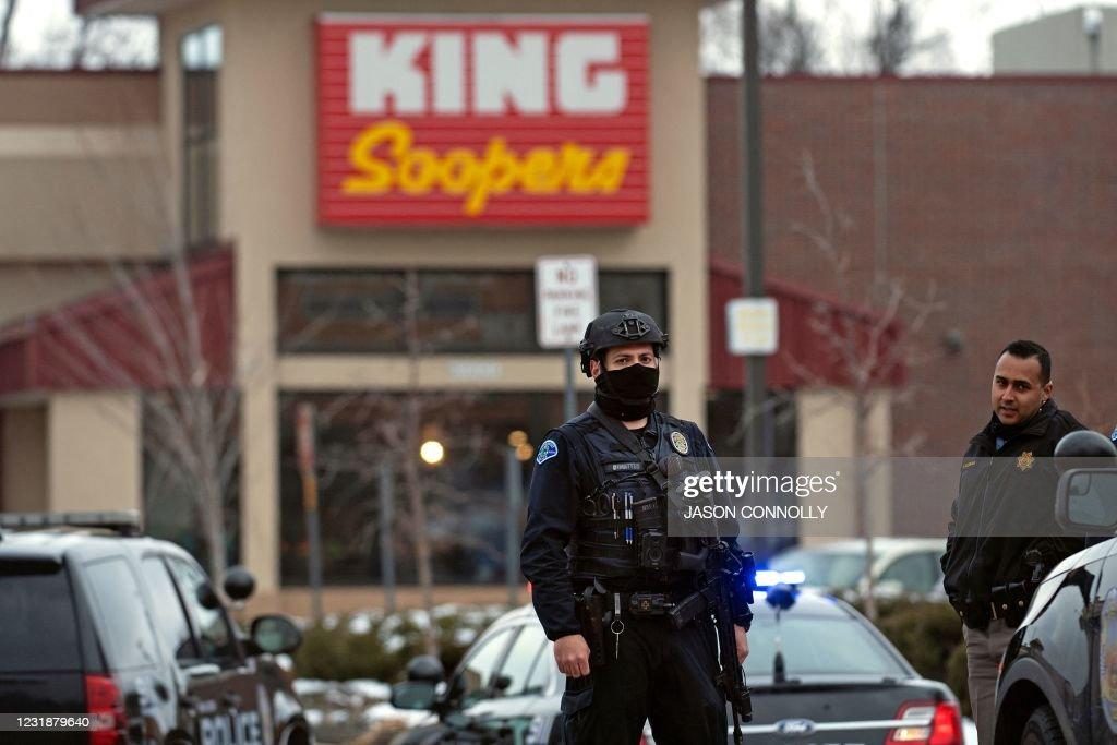 US-CRIME-SHOOTING : News Photo