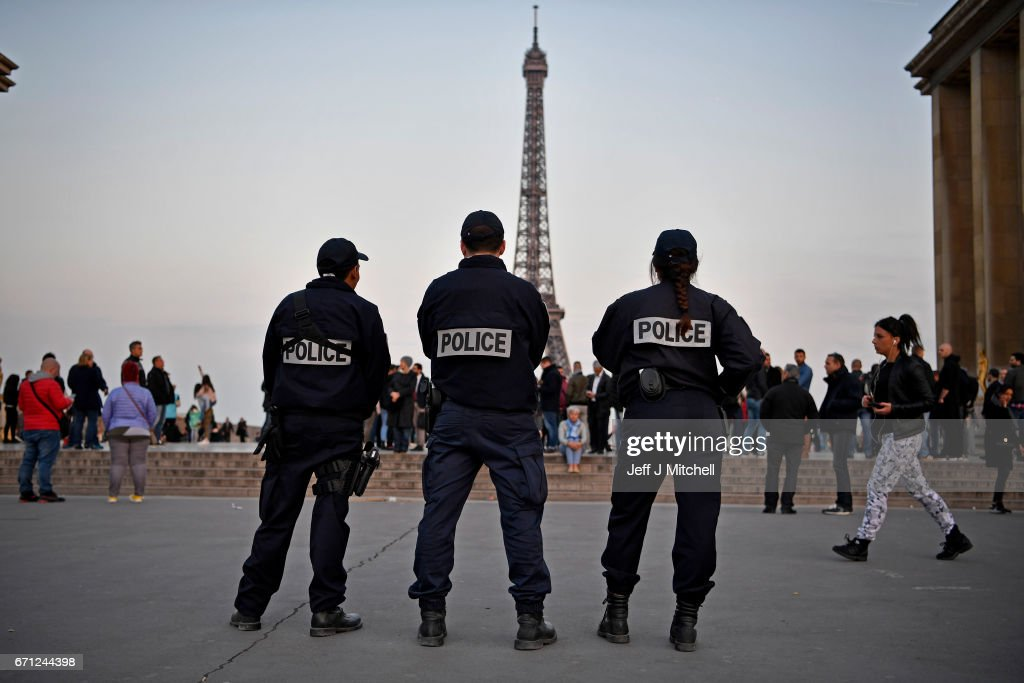 Terrorist Shootings Put Paris On Pre- Election High Alert : News Photo