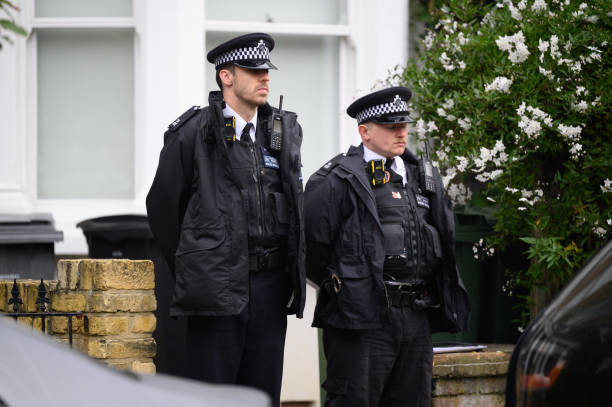 GBR: Police Investigate North London Residence Linked To MP Murder Suspect