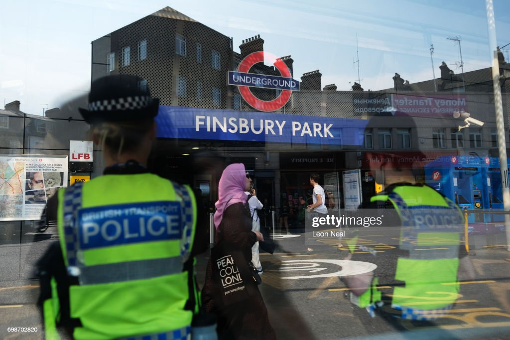 Aftermath Of The Finsbury Park Terrorist Attack : News Photo