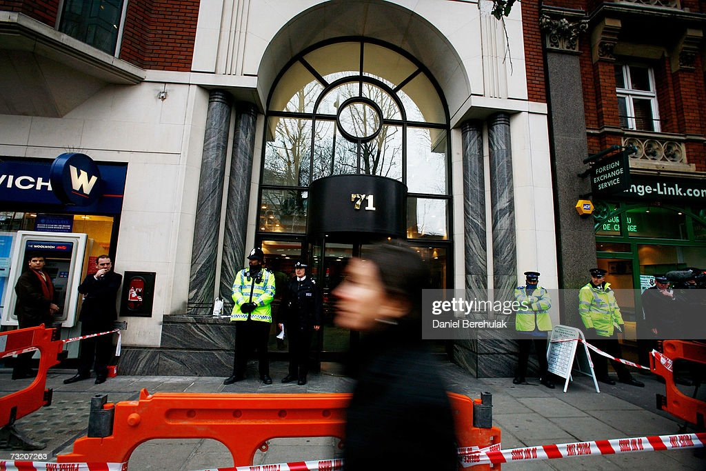 Letter Bomb Explodes In London : News Photo