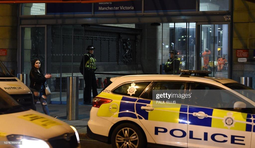 BRITAIN-STABBING : News Photo