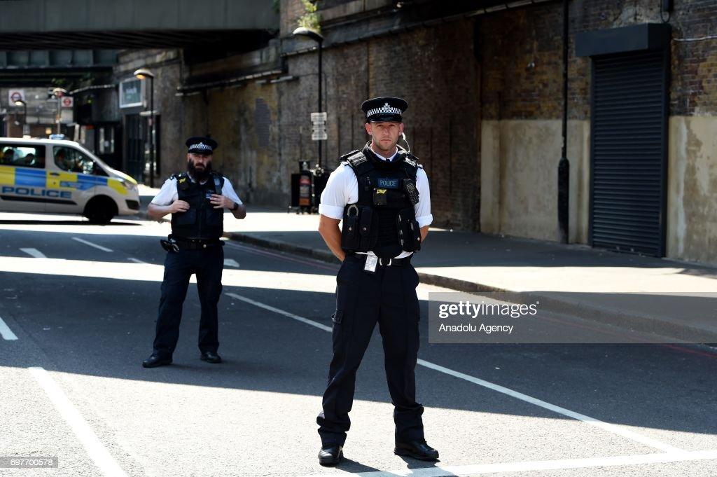Vehicle mows down Muslim worshippers in London : News Photo