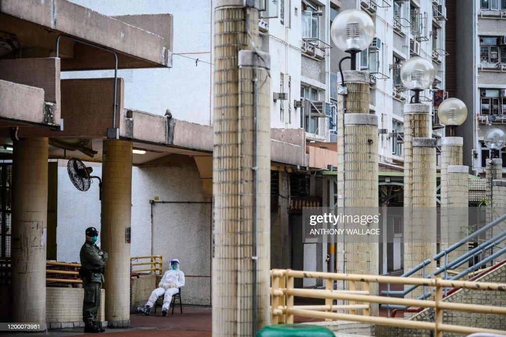 HONG KONG-CHINA-HEALTH-VIRUS : News Photo