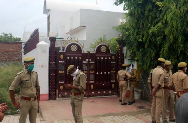 IND: Gangster Vikas Dubey Encounter