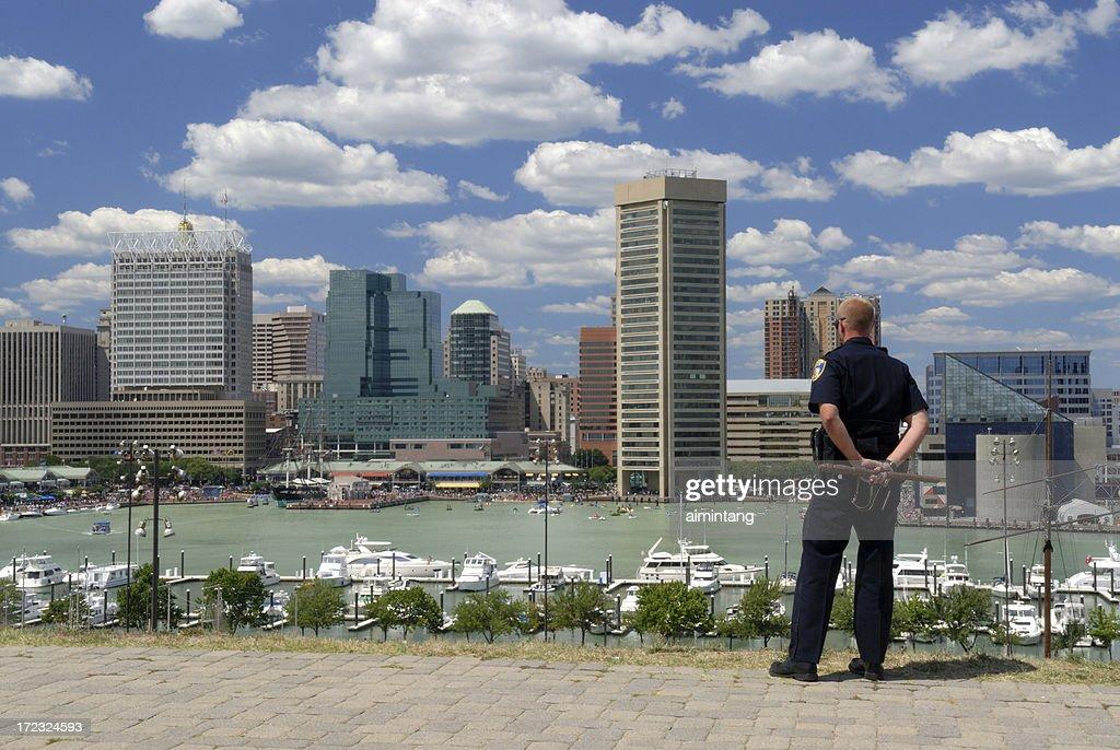 Police on Duty : Stock Photo