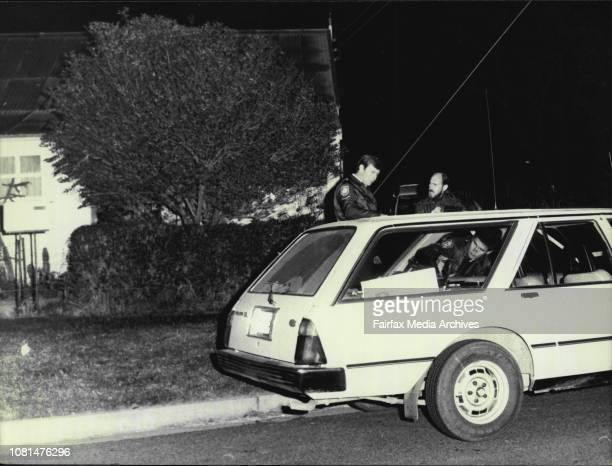 Police outside the houseThe house in Alpha St Greystanes where a man kept police at bay in a five hour siege August 02 1985