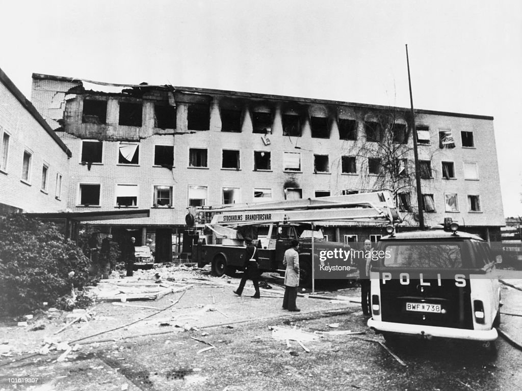Stockholm Embassy Siege : News Photo
