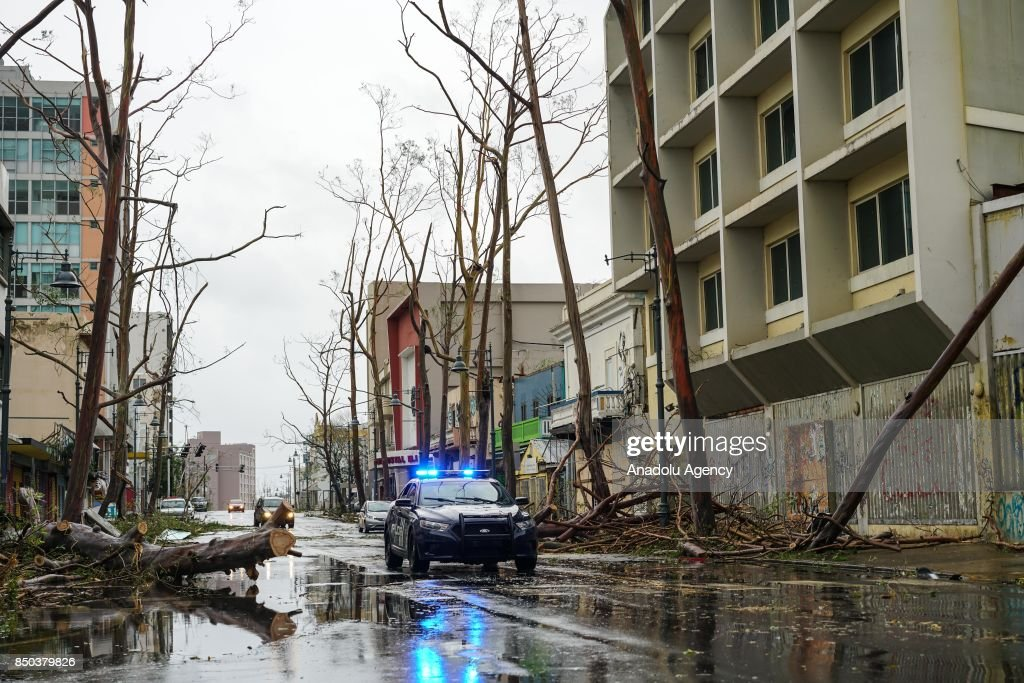 Hurricane Maria pummels storm-ravaged Puerto Rico : News Photo