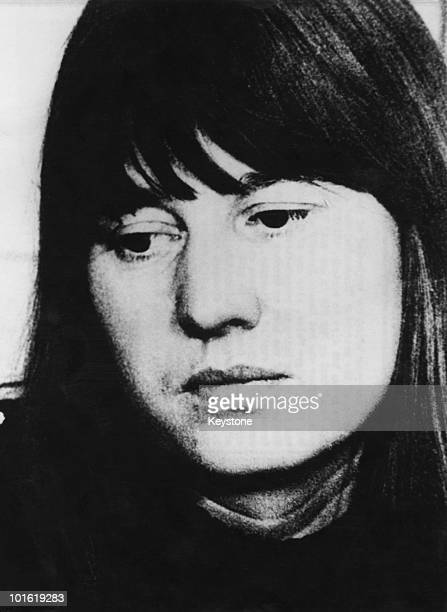 A police photo of German leftwing terrorist Ulrike Meinhof of the Red Army Faction aka the BaaderMeinhof Group circa 1972
