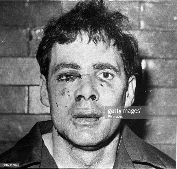 Police photograph of Donald Neilson the day after his arrest