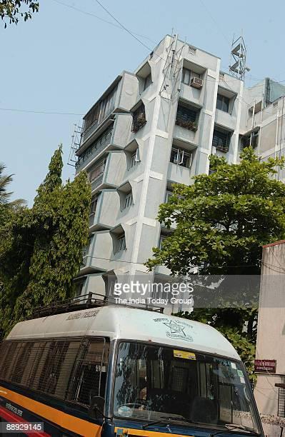 Police posting at Ajit Agarkar's house White Lily at 725 Barbekar Marg Dadar in Mumbai Maharashtra India
