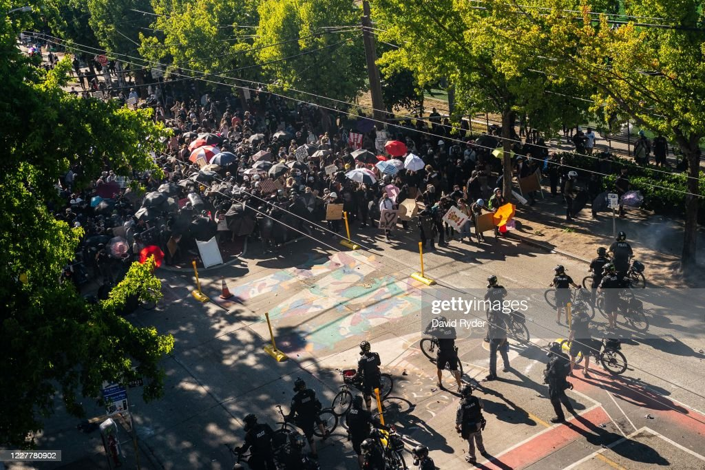 Seattle Protests Continue As Reports Suggest Federal Agents May Be Sent In Response : News Photo