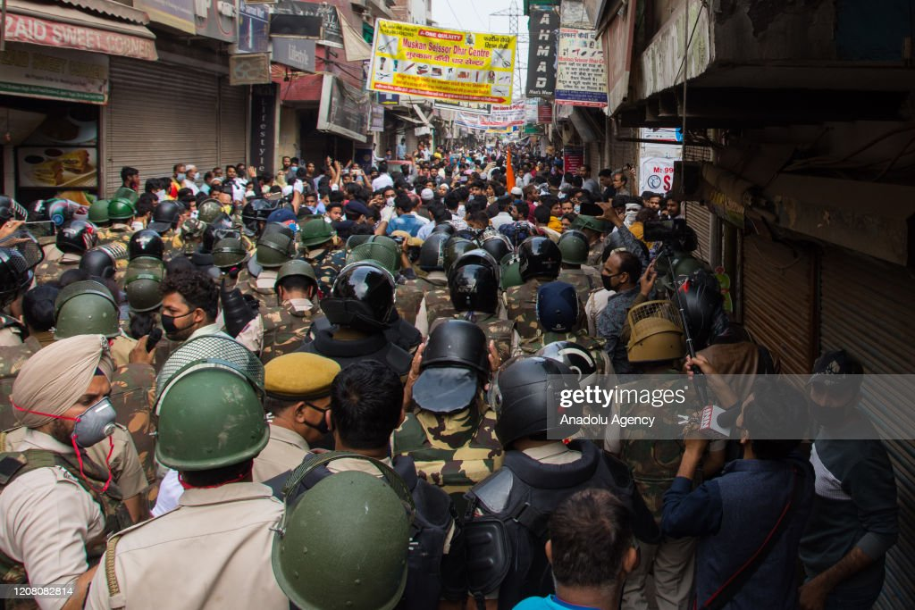 Shaheen Bagh protest site cleared amid Coronavirus pandemic : ニュース写真