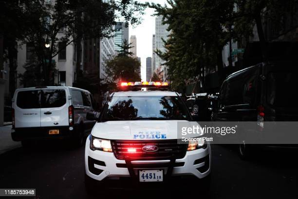 Police respond to a call on November 05 2019 in New York City Following a turbulent threeyear run as Police Commissioner James O'Neill announced...