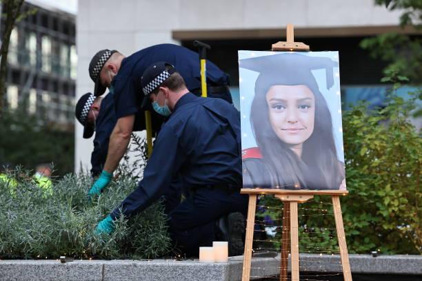 GBR: Vigil Is Held For Murdered Teacher Sabina Nessa