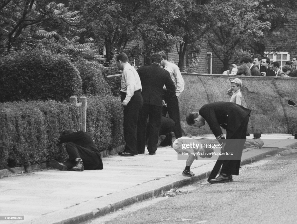 Braybrook Street Crime Scene : News Photo
