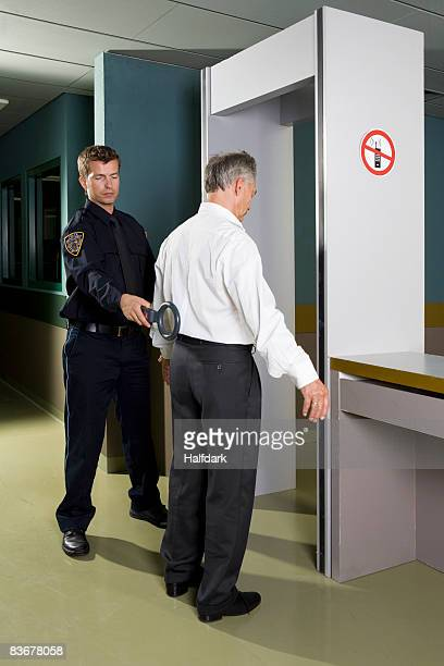 Police security check