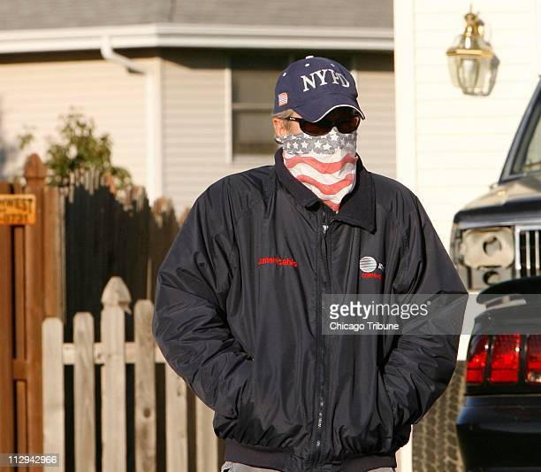 Police Sgt Drew Peterson comes out of his home in Bolingbrook Illinois on Thursday November 1 2007 Peterson has been named as a suspect in the...