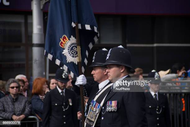 Police share tributes and pictures to honour Pc Keith Palmer in London on April 10 2017 Pc Palmer's coffin travelled along the capital's streets...