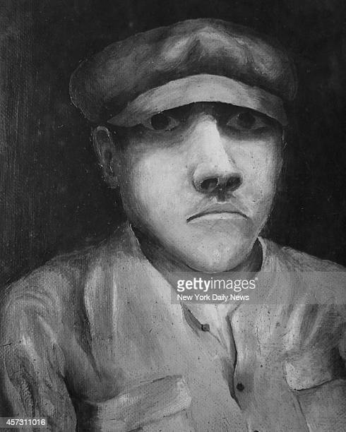 Police sketch of bomb wagon driver suspect in the bombing on Wall Street.