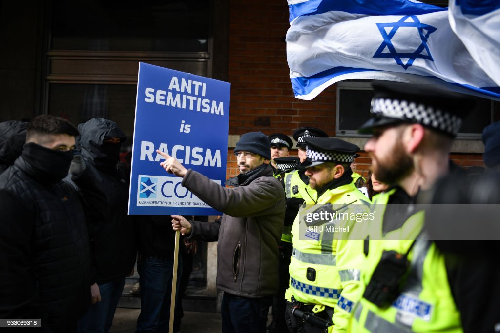 Anti Racism March Takes Place In Glasgow : News Photo