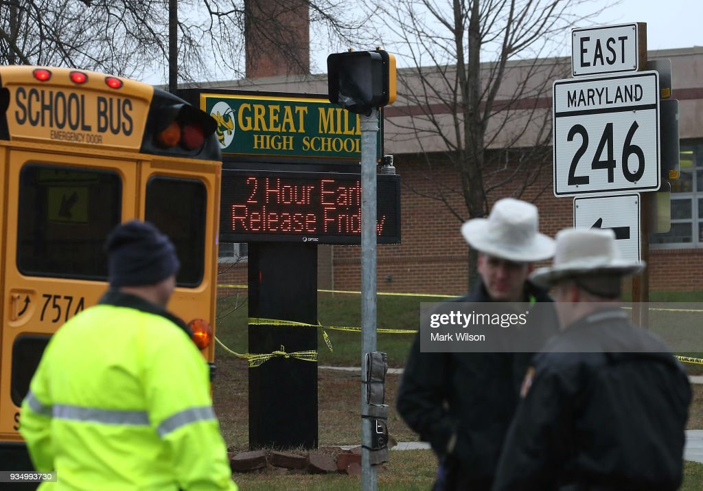 Shooting Reported At Great Mills High School In Maryland
