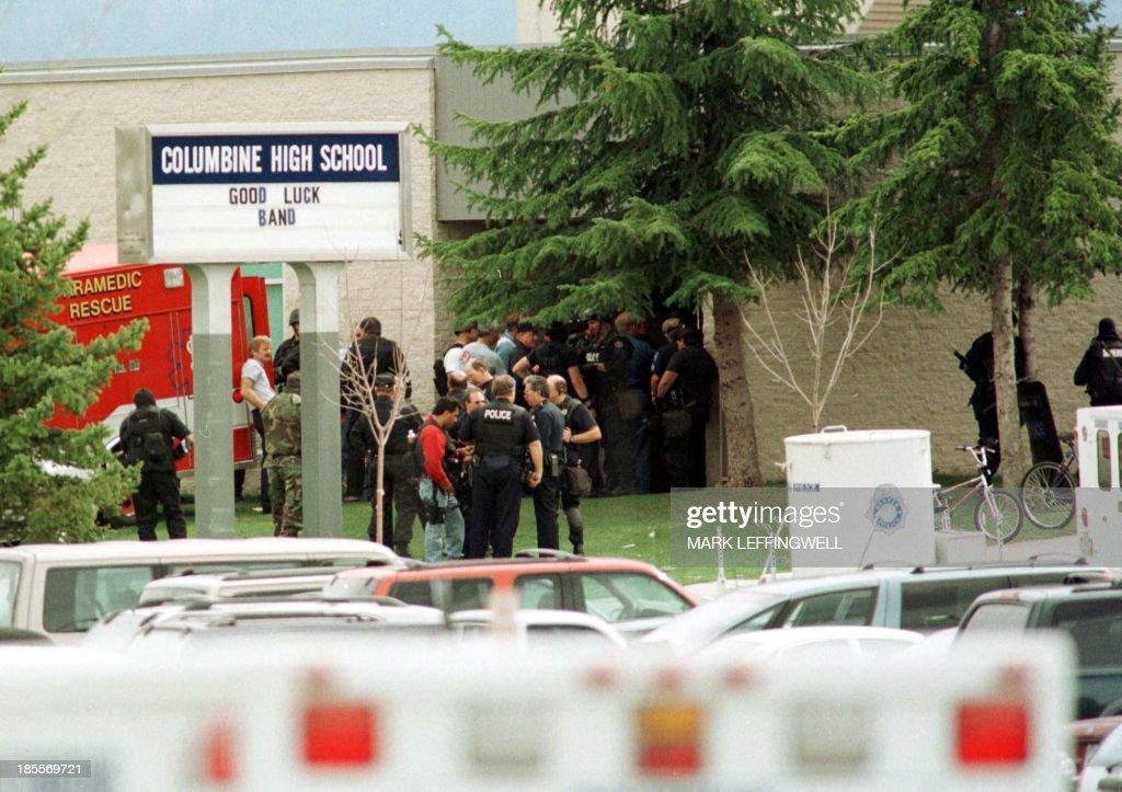 US-SHOOTING-POLICE : News Photo