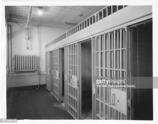 Police Station block of cells Valley Stream New York 1929