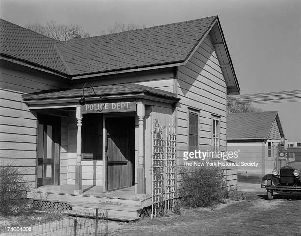 Police Station East Rockaway Long IslandExterior East Rockaway New York 1920s