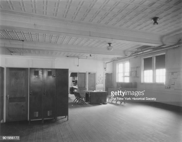 Police Station interior Valley Stream New York 1929