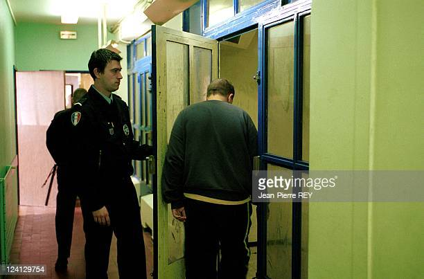 Police station juvenile delinquency In Montreuil France In April 2000 Minor held for questioning at Montreuil police station