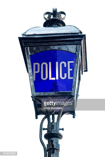 police station のランプ - ガス燈 ストックフォトと画像