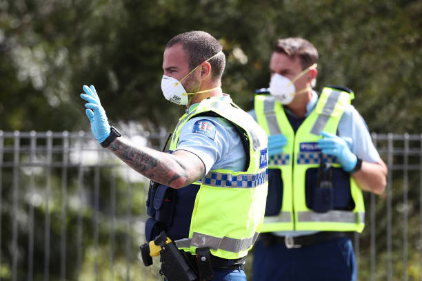 NZL: Checkpoints In Place As New Zealanders Are Told To Stay Home For Easter During Coronavirus Lockdown