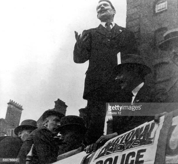 Police strike in London Great Britain