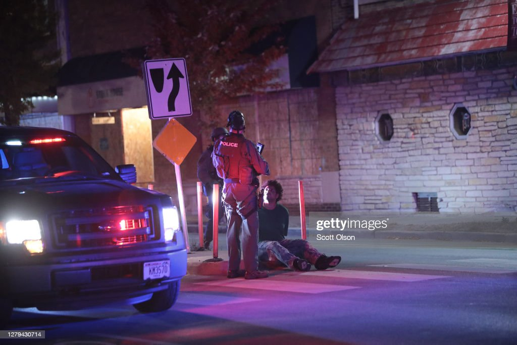 Protests Continue Over Death Of Alvin Cole By Police In Wauwatosa, WI : News Photo