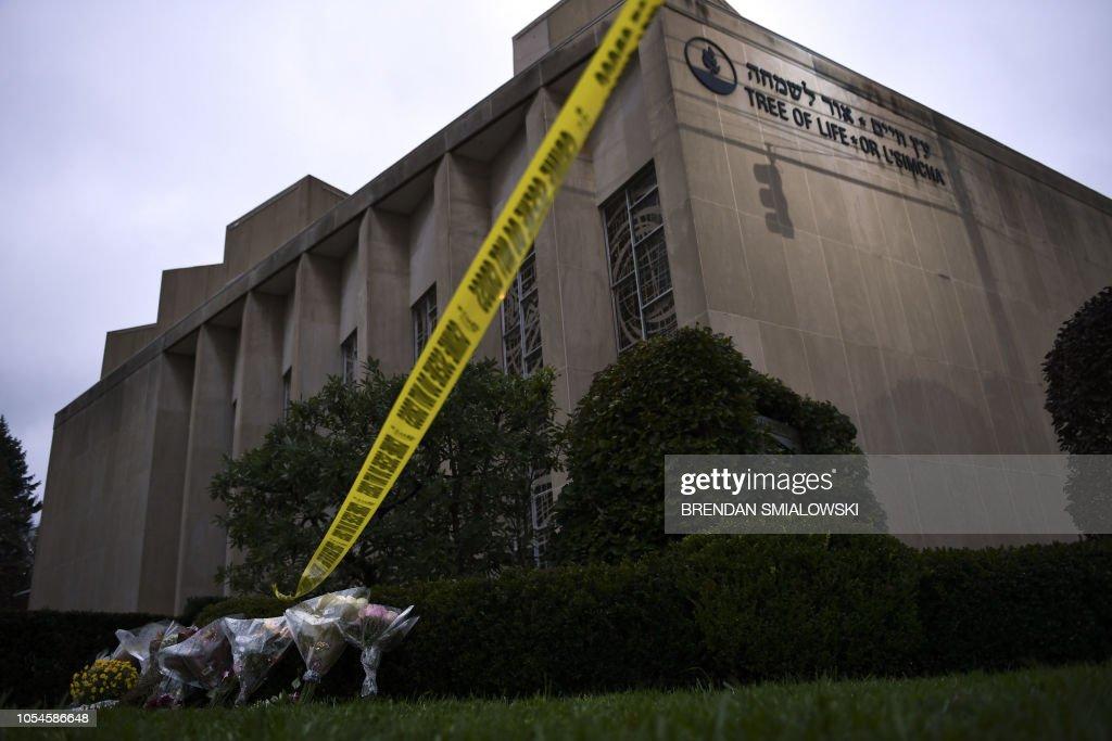 US-CRIME-SHOOTING-RELIGION : News Photo