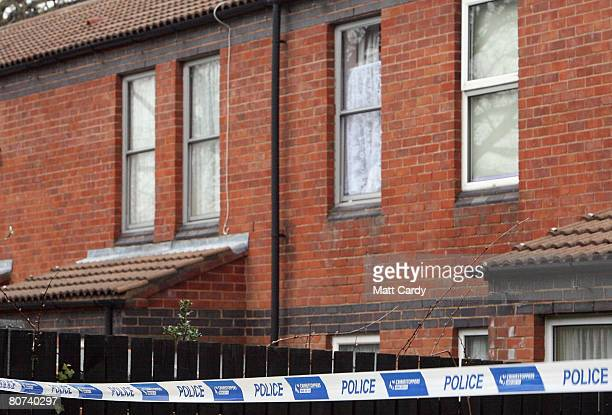 Police tape marks a property in Comb Paddock in Westbury on Trym believed to be where a 19yearold man was arrested under the Terrorism Act on April...
