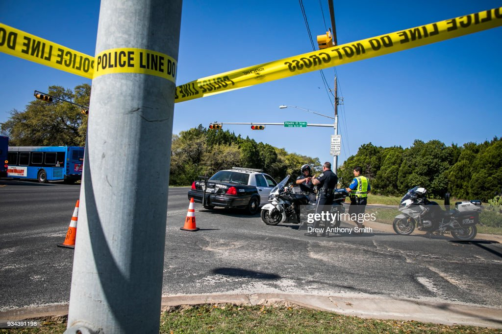 Fourth Package Bomb Detonates In Austin, Injuring Two : News Photo