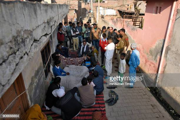 A police team arrives at the house of a 12th Class student after the naked body of the boy who is believed to be a minor was found in a canal near...