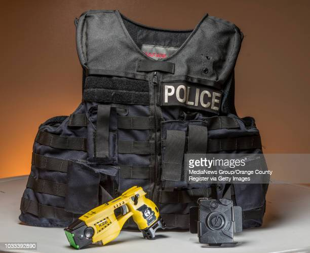 Police tools used in the field include a ballistic vest taser and body camera INFORMATION policetools0923 Ð 9/22/14 Ð LEONARD ORTIZ ORANGE COUNTY...