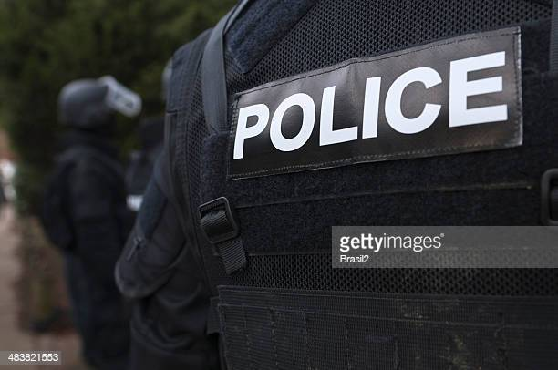 police torso - swat stock pictures, royalty-free photos & images