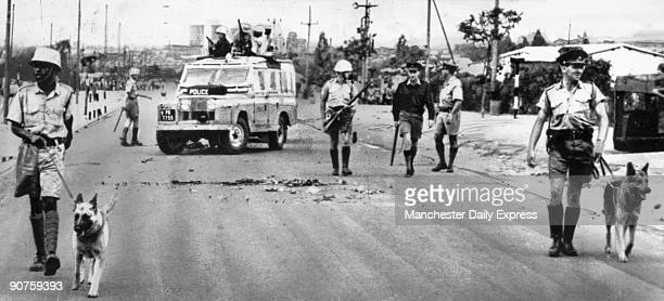 ?Police used tear gas again tonight in Bulawayo - where an African was shot dead earlier today?. Rhodesia, a former British colony, became officially...