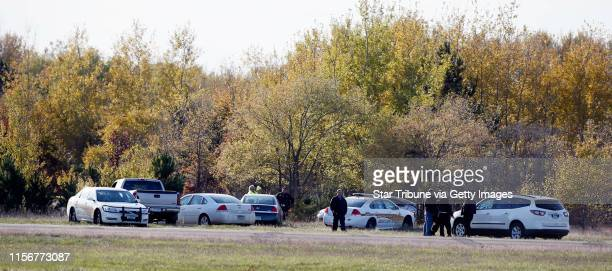 Police waited near the scene were a small airplane crashed on take off Monday October 28 2013 in Princeton MN According to Millie Lacs county Sheriff...