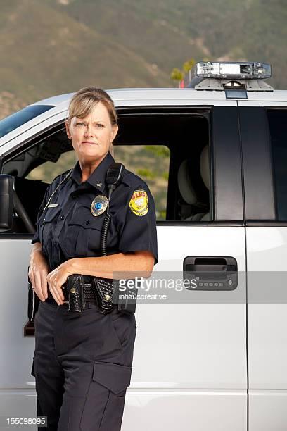 Police Woman on Patrol