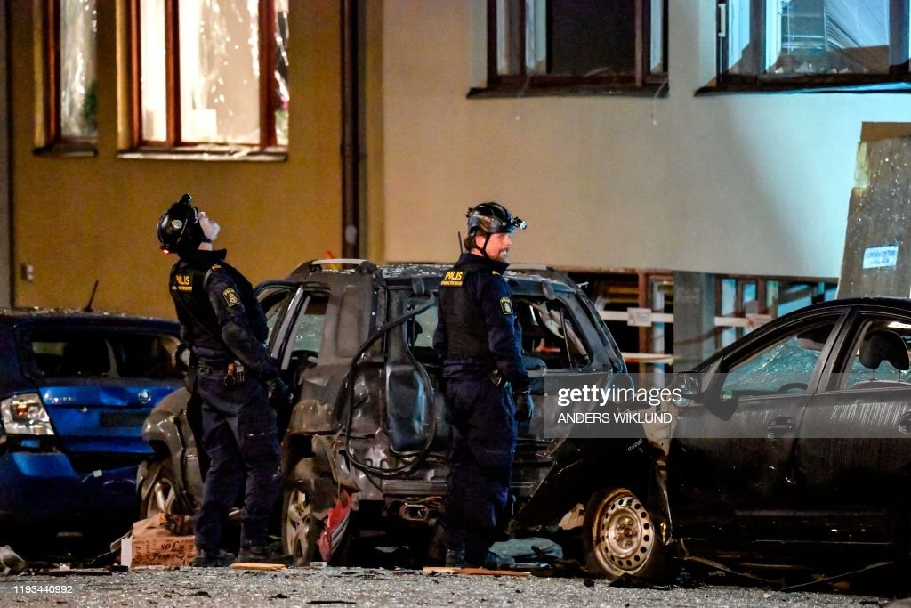 SWEDEN-BLAST : News Photo