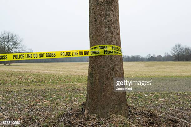 policeline do not cros - cordon tape stock pictures, royalty-free photos & images